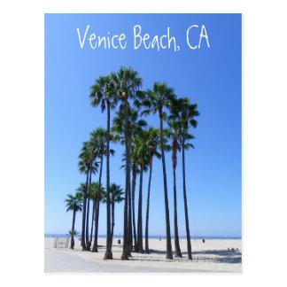 Schöne Venedig-Strand-Postkarte! Postkarte