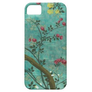 Schöne Vintage antike Blütenbaumschmetterlinge iPhone 5 Schutzhüllen