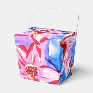 Schöne Wasserfarbe-Blumenbevorzugung/Geschenkboxen Geschenkschachtel