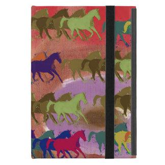 schöne wilde Pferde iPad Mini Etuis