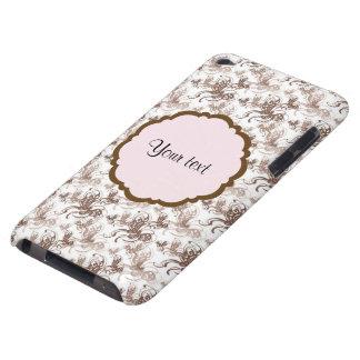 Schöne Wirble Schmetterlinge Browns Case-Mate iPod Touch Hülle