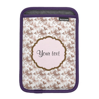 Schöne Wirble Schmetterlinge Browns iPad Mini Sleeve