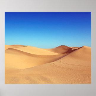 schöne Wüste Poster
