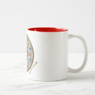 Schöne Zeiten Zweifarbige Tasse
