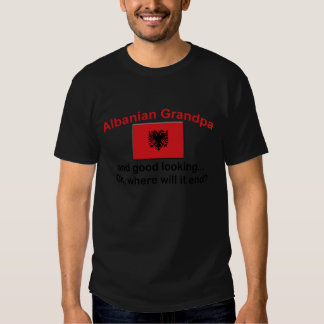 Schöner albanischer Großvater Shirts