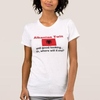 Schöner albanischer Zwilling T-shirt