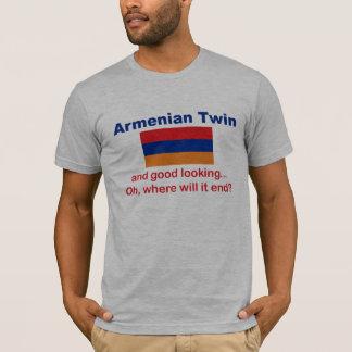 Schöner armenischer Zwilling T-Shirt