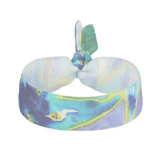 Schöner blauer u. grüner haargummi