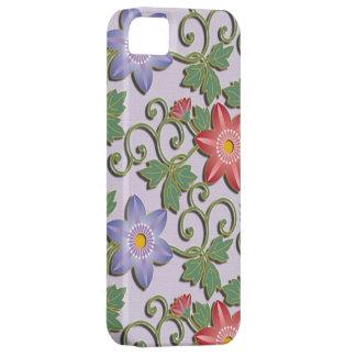 Schöner Blumenarabeske Clematis Schutzhülle Fürs iPhone 5