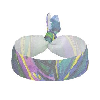 Schöner bunter abstrakter Watercolor-Haargummi Haarband