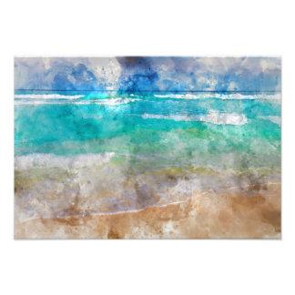 Schöner Cancun-Strand Fotodruck