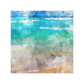 Schöner Cancun-Strand Leinwanddruck