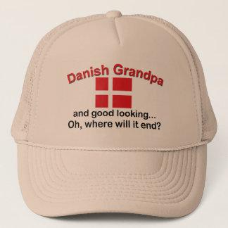 Schöner dänischer Großvater Truckerkappe