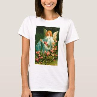 Schöner deutscher Vintager Ostern-Engel T-Shirt