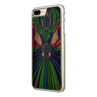 Schöner einzigartiger bunter nervöser carved iPhone 8 plus/7 plus hülle