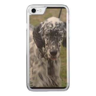 Schöner englischer Setzer-Hund Carved iPhone 8/7 Hülle