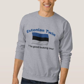 Schöner estnischer Zwilling Sweatshirt