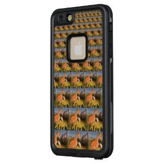 Schöner fantastischer afrikanischer Entwurf des LifeProof FRÄ' iPhone 6/6s Plus Hülle
