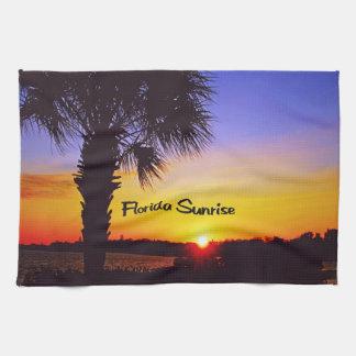 Schöner Florida-Sonnenaufgang Geschirrtuch
