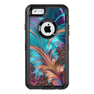 Schöner Fraktal-Feder-Entwurf OtterBox iPhone 6/6s Hülle
