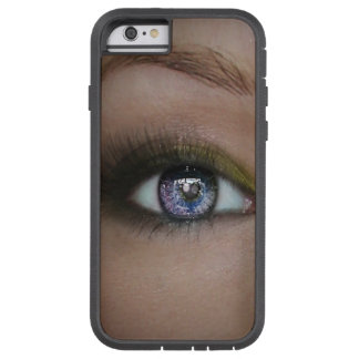 Schöner funkelnder blaue Augen Iphone 6/6s Kasten Tough Xtreme iPhone 6 Hülle