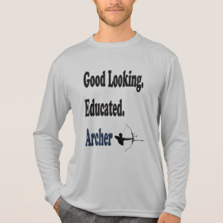 Schöner gebildeter Bogenschütze T-Shirt