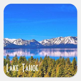 SCHÖNER GLATTER AUFKLEBER LAKE TAHOE