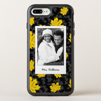 Schöner Herbsthintergrund des Fotos u. des Namens OtterBox Symmetry iPhone 8 Plus/7 Plus Hülle