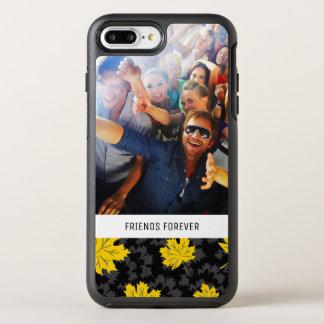 Schöner Herbsthintergrund des Fotos u. des Textes OtterBox Symmetry iPhone 8 Plus/7 Plus Hülle