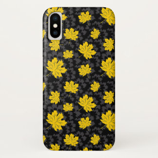 Schöner Herbsthintergrund iPhone X Hülle