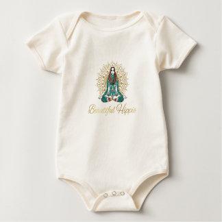Schöner Hippie-Bio Baby Baby Strampler