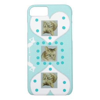 Schöner IPhone Fall für Katzenliebhaber iPhone 8/7 Hülle