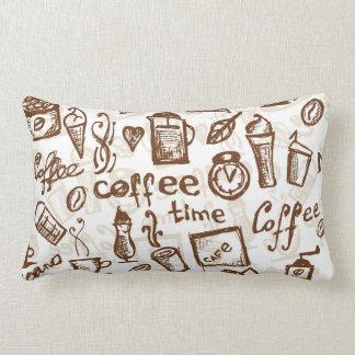 Schöner Kaffee-Espresso-Entwurf Kissen