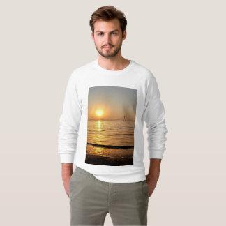 Schöner Küstensonnenuntergang Sweatshirt