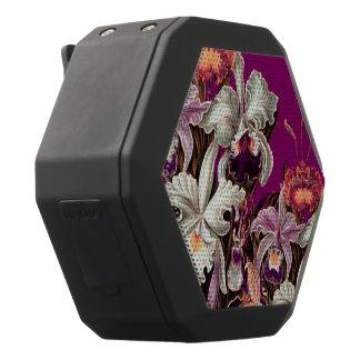 Schöner Lavendel-Vintage Blumen Schwarze Bluetooth Lautsprecher
