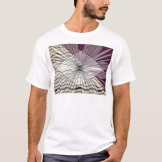 schöner lila Musterentwurf T-Shirt