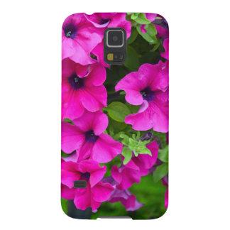 Schöner lila Petuniedruck Samsung Galaxy S5 Hülle