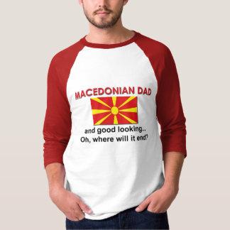 Schöner mazedonischer Vati T-Shirt