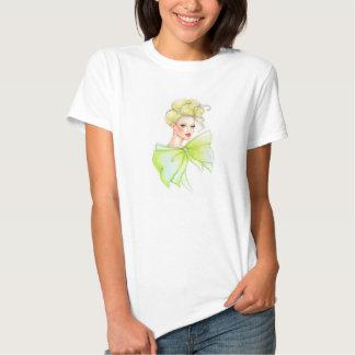 Schöner Modemädchen-T - Shirt