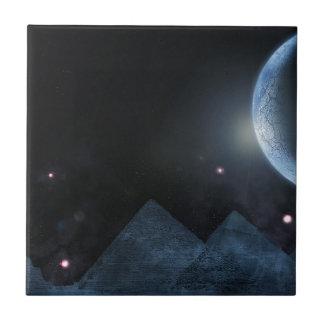 Schöner Mond Keramikfliese