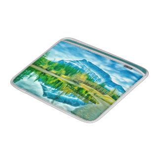 Schöner Moraine See in Nationalpark 2 Banffs Sleeve Fürs MacBook Air