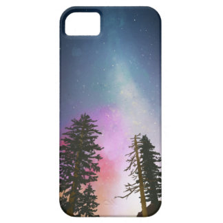 Schöner nächtlicher Himmel, der bis zu den Himmeln Schutzhülle Fürs iPhone 5