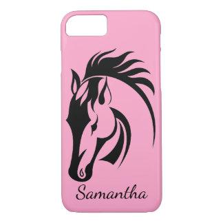Schöner Pferdeentwurfs-Smartphone-Fall iPhone 8/7 Hülle