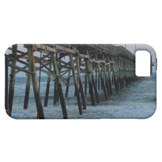 Schöner Pier und Wellen (Eichen-Insel, NC) Hülle Fürs iPhone 5
