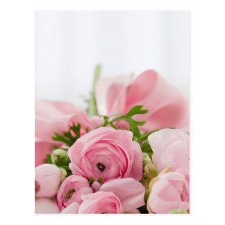 Schöner Rosen-Blumenstrauß Postkarte