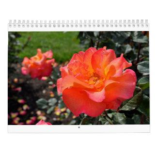 Schöner Rosen-Kalender Abreißkalender