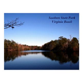 Schöner See Postkarte