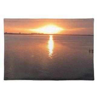 Schöner Sonnenuntergang Tischset