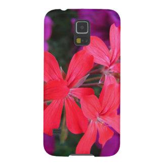 Schöner Telefonkasten verziert mit Blumen Galaxy S5 Cover