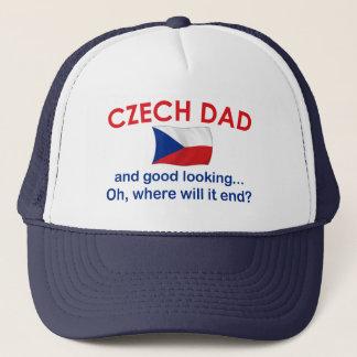Schöner tschechischer Vati Truckerkappe